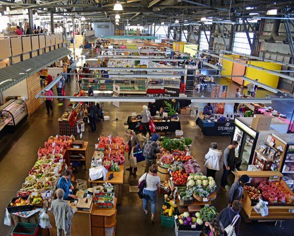 Die Markthalle von Halifax