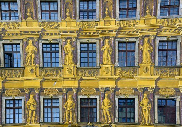 Das Haus zu Sieben Kurfürsten in Breslau