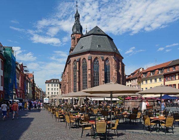 Die Innenstadt von Heidelberg