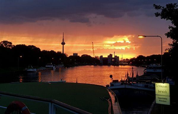 Gute Nacht und auf Wiedersehen Neckar