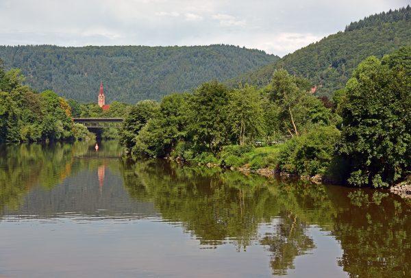 Unterwegs auf dem Neckar
