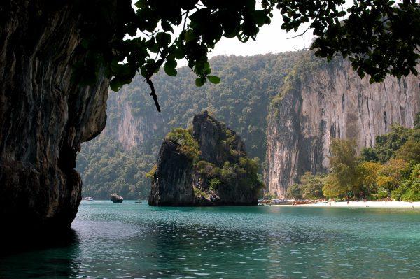Auf Koh Hong in Thailand