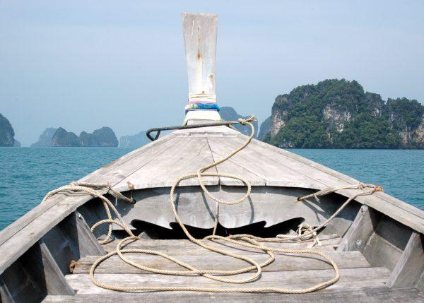 Auf der Fahrt nach Koh Hong