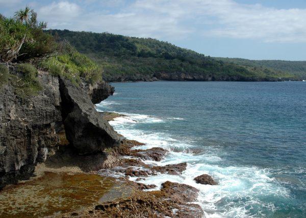 An der Küste der Christmas Island