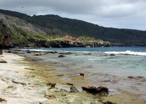 Blick auf das Christmas Island Resort