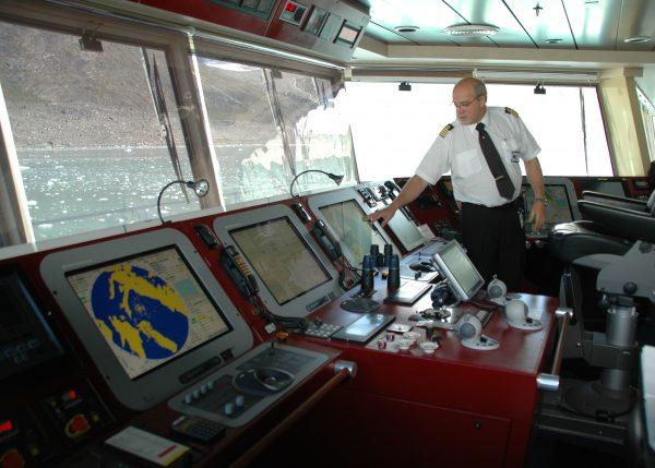 Der Kapitän der MS FRAM