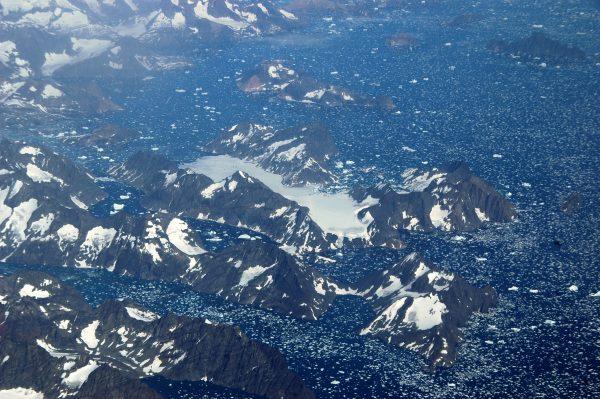 Letzter Blick auf Grönland, bye bye