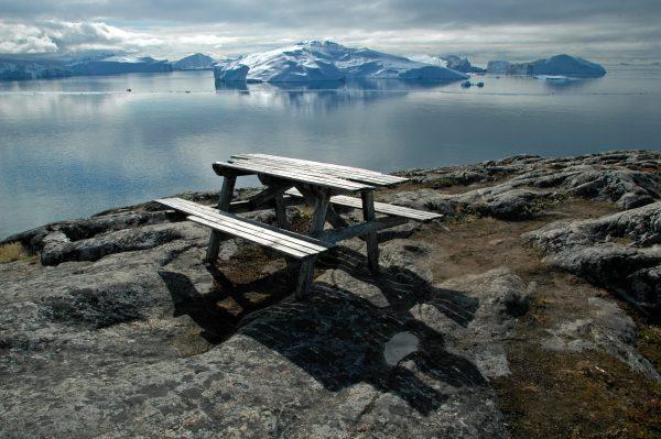 Der Ilulissat Eisfjord