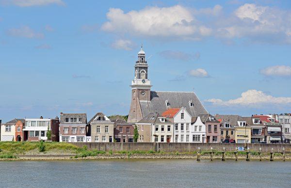 Blick auf Lekkerkerk