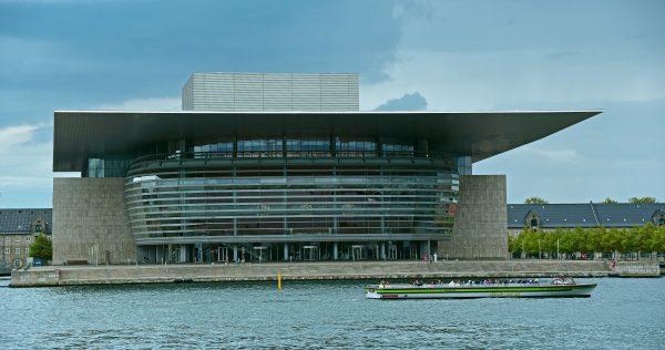 Die königliche Oper von Kopenhagen