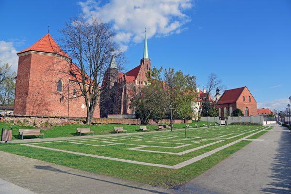 Die Kreuz-Kirche in Breslau