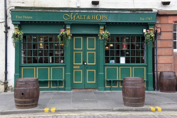 Malt and Hops Pub in Leith