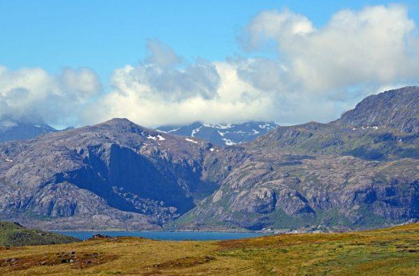 Wandern auf den Lofoten, Norwegen