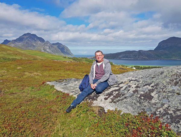Zinni auf den Lofoten, Norwegen