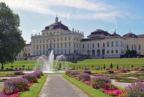 Das Schloss von Ludwigsburg