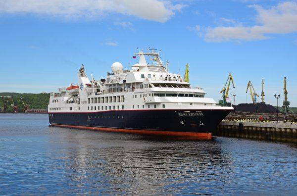 Die MS Silver Explorer in Murmansk