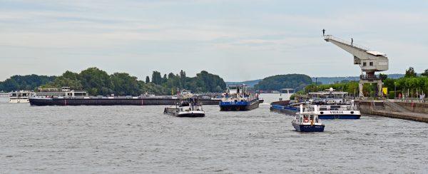 Der 'Rhein-Schiff-Highway'