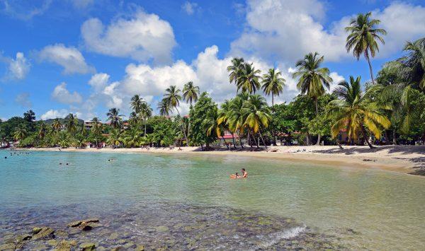 Strand im Südosten von Martinique