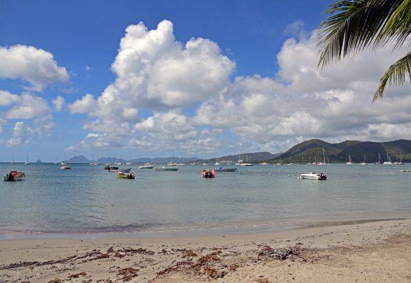 In der Nähe von Le Marin in Martinique