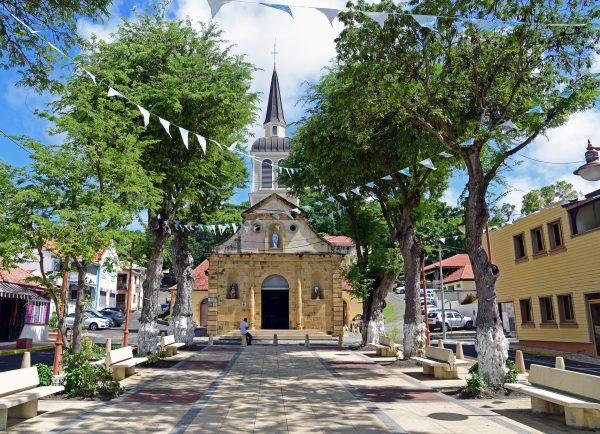 Die Kirche von Sainte-Anne / Martinique