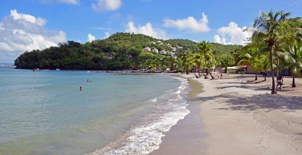 Traumstrand im Süden von Martinique