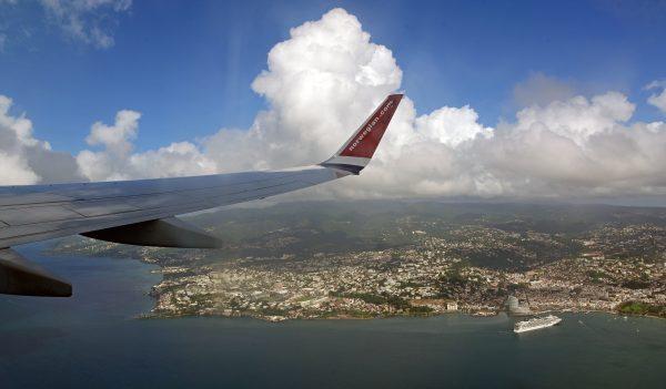 Bye bye Martinique