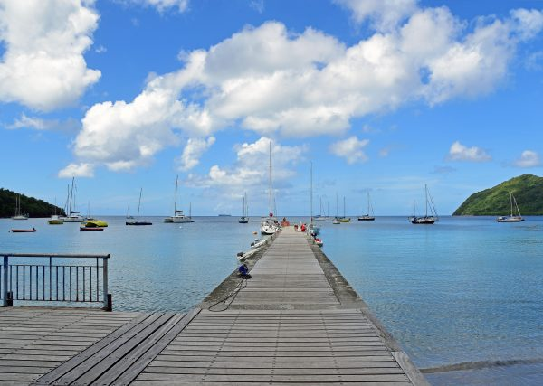 Die Gemeinde Les Anses-d'Arlet in Martinique