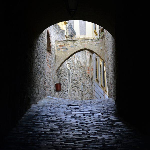 Blick auf die Altstadt von Dürnstein