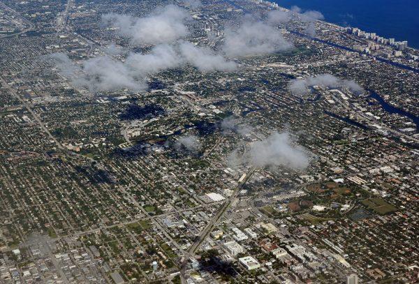 Anflug auf Fort Lauderdale