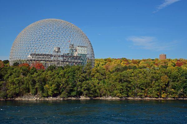 Die Biosphère in Montréal