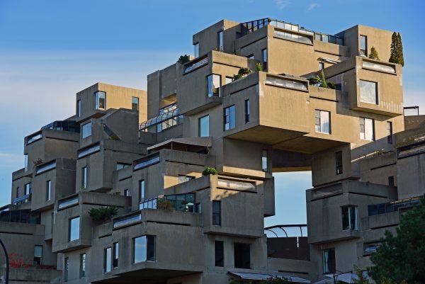 'Habitat 67' in Montréal