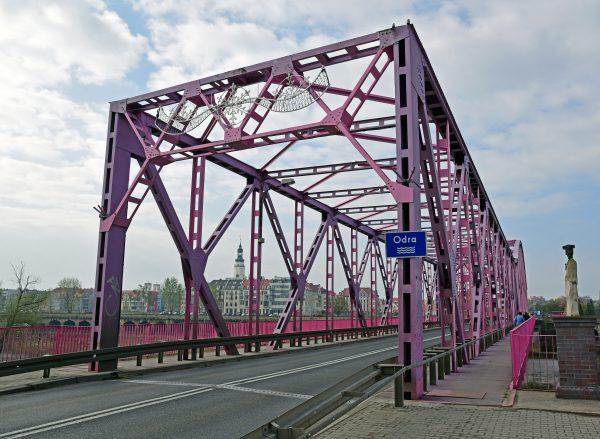 Die Oderbrücke von Glogau