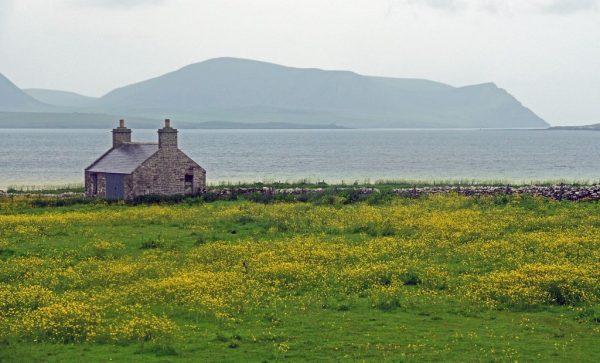 Das Neolitic Heartland auf den Orkney Inseln, Schottland