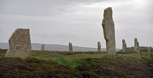 Ring of Brodgar, Orkney Inseln, Schottland
