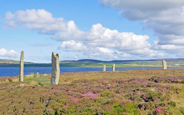 Ring of Brodgar in 2014, Orkney Islands, Schottland