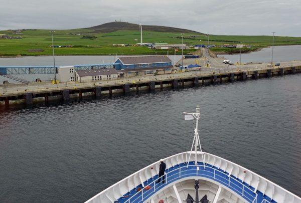 Blick auf die Orkney-Inseln