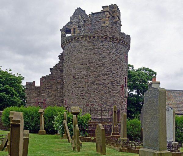 Die St.-Magnus-Kathedrale in Kirkwall, Schottland