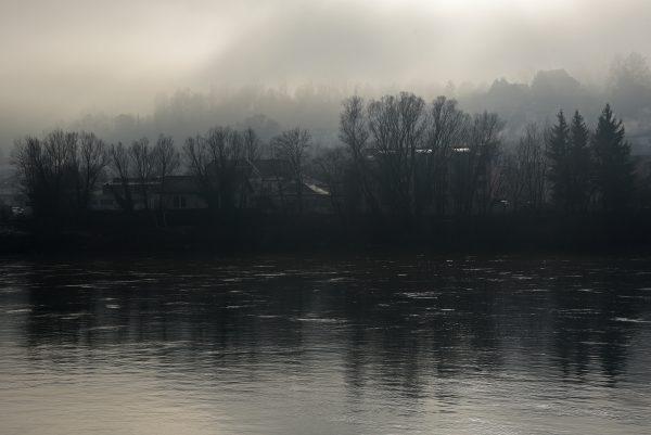 Blick auf die Inn in Passau