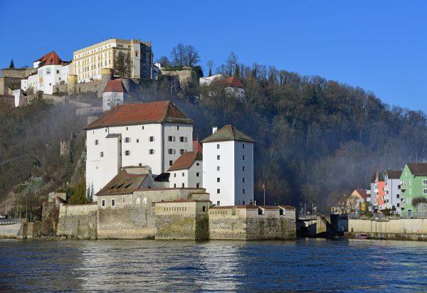 Die Veste Ober- und Niederhaus in Passau