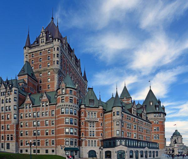 Das Château Frontenac in Québec