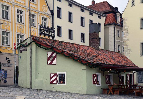 Die Historische Wurstkuchl in Regensburg