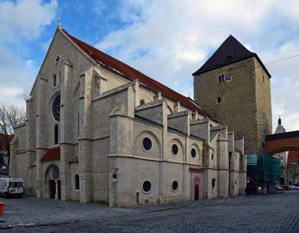 Die St. Ulrich Kirche in Regensburg