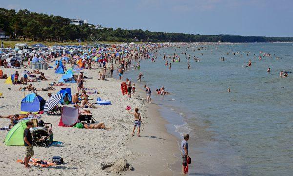 Der Strand von Binz, Rügen