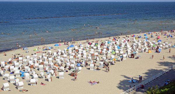 Der Strand von Sellin, Rügen