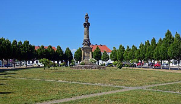 Prachtplatz Circus, Putbus, Rügen