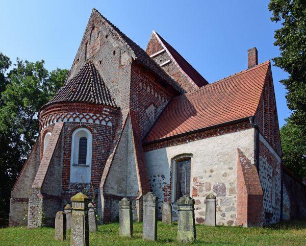 Die Kirche in Altenkirchen, Rügen