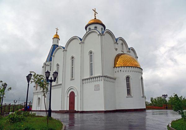 Die Russisch-orthodoxe Kirche von Murmansk