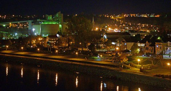 Blick auf Saguenay in Québec in Kanada