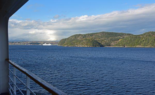 Blick auf Saguenay (weit)