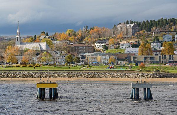 Blick auf Saguenay (nah)